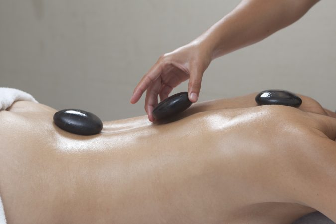 Massage galets bienfaisants