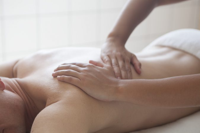 Massage minéral fitness
