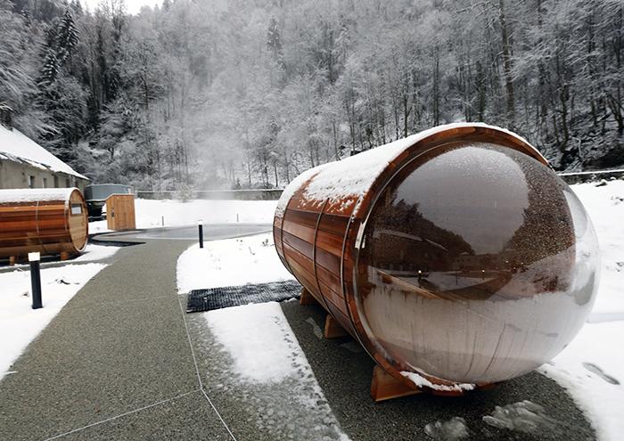 Deux Saunas Viennent Completer L Offre Des Bains Les Thermes