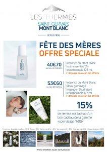 fete mere - maman -offre - thermes - massage
