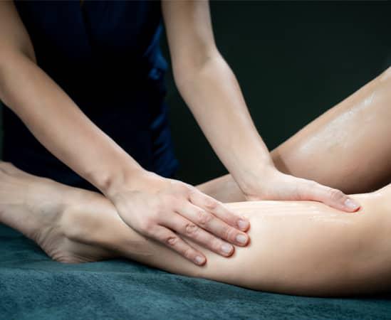 Massage sportif retour des alpages